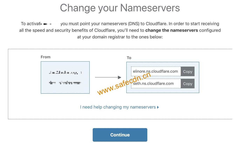 使用Coudflare的CDN加速网站隐藏网站IP