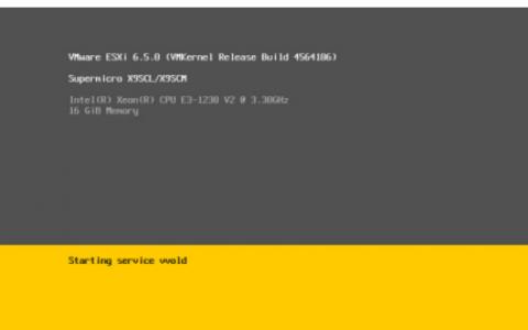 VMware ESXI v6.5 ISO下载
