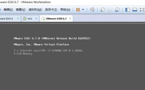 VMware ESXI v6.7 ISO下载
