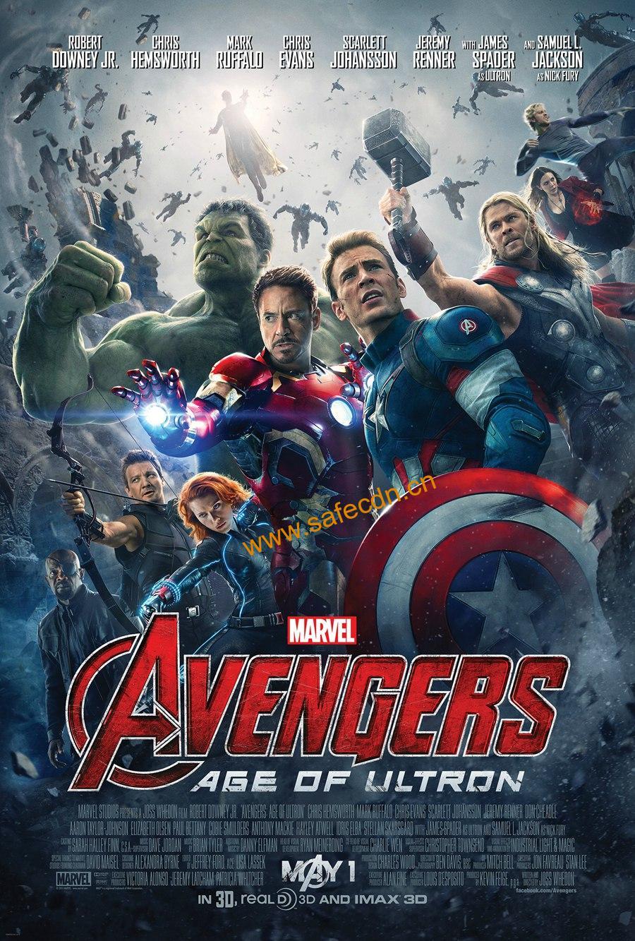 复仇者联盟2:奥创纪元 蓝光原盘下载+高清MKV版/ 复仇者联盟:奥创时代 / 复仇者联盟:奥创年代 / 复联2 /2015 Marvel Avengers: Age of Ultron 41.68G